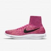 Nike LunarEpic Flyknit Pink Pow/Vivid Purple/Atomic Pink/Black Womens Running Shoes