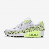 Nike Air Max 90 Premium White/Ghost Green/Black/White Womens Shoes