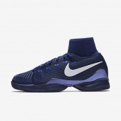 Nike Court Air Zoom Ultrafly Navy Blue/White unisex Tennis Shoes