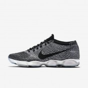 Nike Flyknit Zoom Agility Dark Grey/Black/White Womens Training Shoes