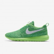 Nike Roshe Flyknit NM Voltage Green/Lucid Green/White Womens Shoes