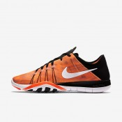 Nike Free TR 6 Print Black/Total Crimson/Pearl Pink/White Womens Training Shoes