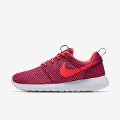 Nike Roshe One Deep Garnet/Pure Platinum/Bright Crimson Womens Shoes