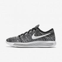 Nike LunarEpic Low Flyknit Black/White Mens Running Shoes