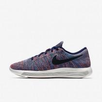 Nike LunarEpic Low Flyknit Loyal Blue/Blue Glow/Summit White/Black Mens Running Shoes