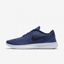 Nike Free RN Dark Purple Dust/Loyal Blue/Blue Glow/Black Mens Running Shoes
