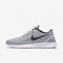 Nike Free RN White/Pure Platinum/Black Mens Running Shoes