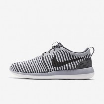 Nike Roshe Two Flyknit Dark Grey/Wolf Grey/White/Dark Grey Mens Shoes