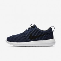 Nike Roshe Two Flyknit College Navy/White/Squadron Blue/Black Mens Shoes