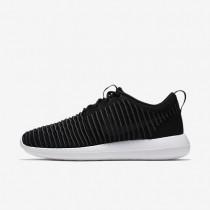 Nike Roshe Two Flyknit Black/White/Volt/Dark Grey Mens Shoes
