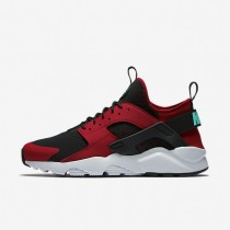 Nike Air Huarache Ultra Gym Red/Black/Pure Platinum/Clear Jade Mens Shoes