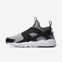 Nike Air Huarache Ultra Wolf Grey/Black/Cool Grey/White Mens Shoes