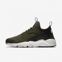 Nike Air Huarache Ultra Cargo Khaki/Black/Light Bone Mens Shoes