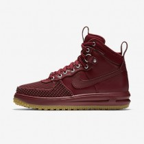 Nike Lunar Force 1 Duckboot Team Red/Gum Light Brown/Team Red Mens boot Shoes