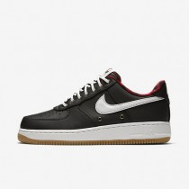 Nike Air Force 1 07 LV8 Black/Action Red/Gum Light Brown/Sail Mens Shoes