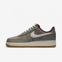 Nike Air Force 1 07 LV8 Light Taupe/Tour Yellow/Gum Light Brown/Sail Mens Shoes