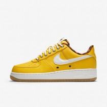 Nike Air Force 1 07 LV8 Varsity Maize/Safety Orange/Gum Light Brown/Sail Mens Shoes