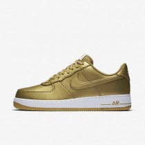 Nike Air Force 1 07 LV8 Metallic Gold/White Mens Shoes