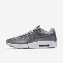 Nike Air Max 1 Ultra Flyknit Wolf Grey/Dark Grey/White/Wolf Grey Mens Shoes