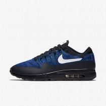 Nike Air Max 1 Ultra Flyknit Dark Obsidian/Racer Blue/Photo Blue/White Mens Shoes