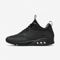 Nike Air Max 90 Mid Winter Black/Black Mens Shoes
