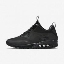 Nike Air Max 90 Mid Winter Black/Black Mens Shoes