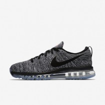 Nike Flyknit Air Max White/Black Mens Running Shoes