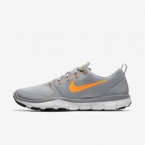 Nike Free Train Versatility Wolf Grey/White/Black/Bright Citrus Mens Training Shoes