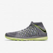 Nike Train Ultrafast Flyknit CR7 Cool Grey/Wolf Grey/Clear Jade/Black Mens Training Shoes