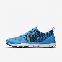 Nike Free Train Versatility Blue Glow/White/Black Mens Training Shoes