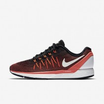 Nike Air Zoom Odyssey 2 Black/Bright Crimson/Total Crimson/Summit White Mens Running Shoes