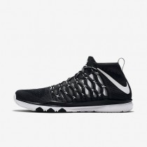 Nike Train Ultrafast Flyknit Black/Dark Grey/White Mens Training Shoes