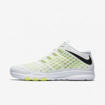 Nike Train Quick White/Volt/Black Mens Training Shoes