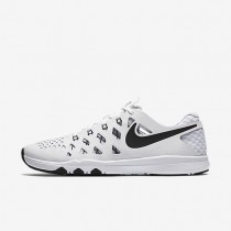 Nike Train Speed 4 White/Black Mens Training Shoes
