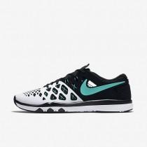 Nike Train Speed 4 White/Black/Hyper Jade Mens Training Shoes