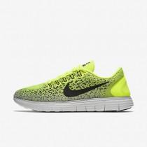 Nike Free RN Distance Volt/Black/Dark Grey/Wolf Grey Mens Running Shoes