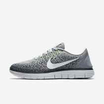 Nike Free RN Distance Wolf Grey/Off White/Cool Grey/Black Mens Running Shoes