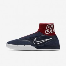 Nike SB Koston 3 Hyperfeel Obsidian/University Red/White/Obsidian Mens Skateboarding Shoes