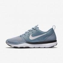 Nike Free Train Versatility Blue Grey/Black/Hyper Turquoise/White Mens Training Shoes
