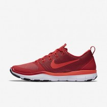 Nike Free Train Versatility Total Crimson/Gym Red/White/Black Mens Training Shoes