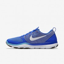 Nike Free Train Versatility Racer Blue/Gamma Blue/Vivid Orange/White Mens Training Shoes