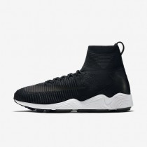 Nike Zoom Mercurial Flyknit Black/White/Anthracite/Black Mens Shoes