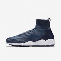Nike Zoom Mercurial Flyknit Squadron Blue/Ocean Fog/College Navy/Squadron Blue Mens Shoes