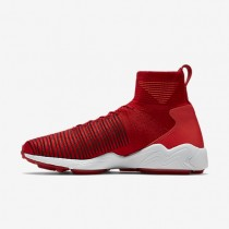 Nike Zoom Mercurial Flyknit University Red/Dark Grey/Deep Burgundy/University Red Mens Shoes