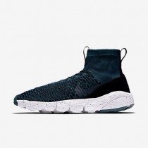 Nike Air Footscape Magista Flyknit F.C. Midnight Turquoise/Black/Rio Teal/Midnight Turquoise Mens Shoes
