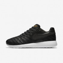 Nike Roshe Tiempo VI QS Black/Metallic Gold/White/Black Mens Shoes