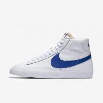 Nike Blazer Mid Retro White/White/Game Royal Mens Shoes