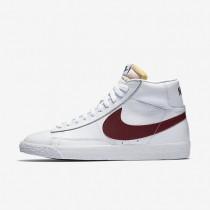 Nike Blazer Mid Retro White/White/Team Red Mens Shoes
