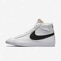 Nike Blazer Mid Retro White/White/Black Mens Shoes