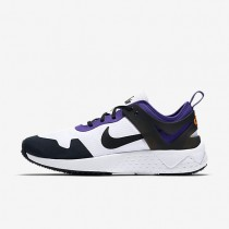 Nike Zoom Lite QS White/Court Purple/Bright Citrus/Black Mens Shoes